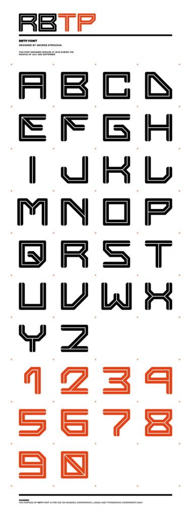 RBTP-font